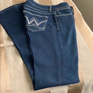 Ladies Wrangler Bootcut Jeans